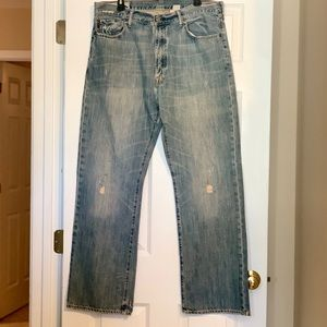 Abercrombie and Fitch bootleg jeans 36